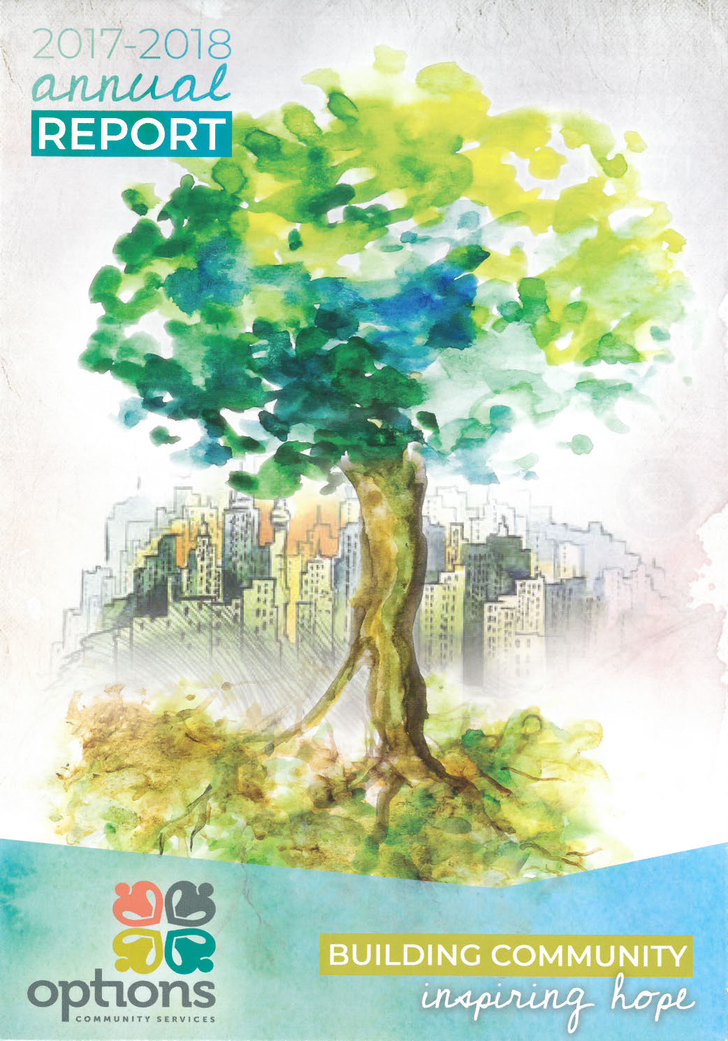 2017-18 AR Cover_Tree and cityscape